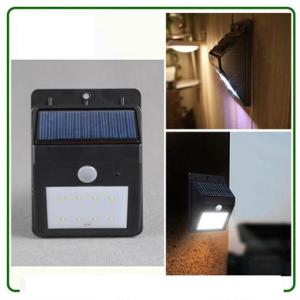 Solar Garden Motion Light_1000mAh